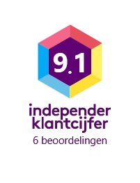independer klantcijfer button